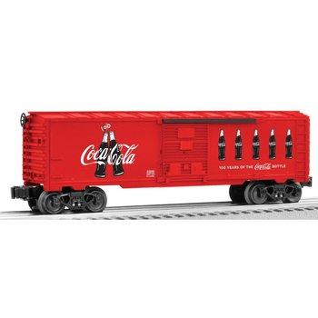 Lionel O Coca-Cola Anniversary Bottle Boxcar # 6-82690