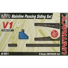 Kato Unitrack V1 Set Mainline Passing Siding Set # 20-860-1