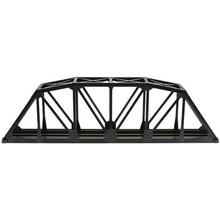 "Atlas Through Truss 18"" Black Bridge Kit w/Code 100 Track # 888"
