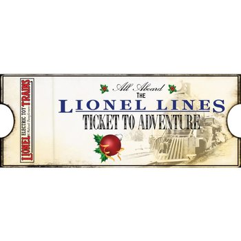 Lionel Lines Ticket to Adventure # 9-22051
