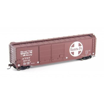 Atlas HO Postwar 50' Double-Door Boxcar Santa Fe # 20003321
