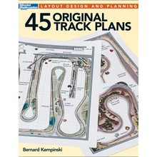 Kalmbach Books 45 Original Track Plans 12496
