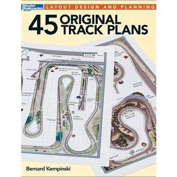 Kalmbach Books 45 Original Track Plans 12496