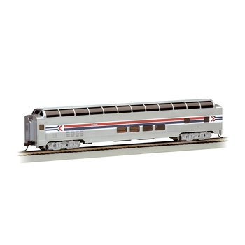 Bachmann HO 85' Amtrak Phase I - 85' BUDD Full Dome # 13005