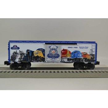 Lionel O 2015 National Lionel Train Day boxcar # 6-83497
