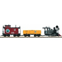 LGB G Lake George & Boulder American Freight Train set # 72426