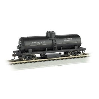 Bachmann HO Track Cleaning Tank Car, MOW # 16301