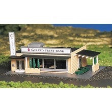 Bachmann N Built-Up Drive-Up Bank # 45804