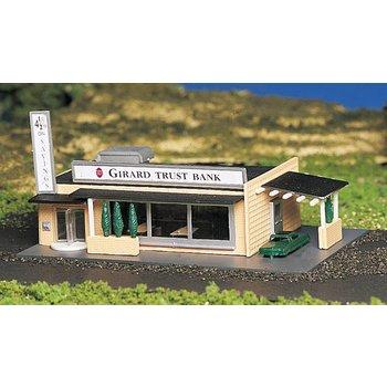 Bachmann N Built-Up Drive-Up Bank # 45804