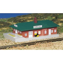 Bachmann N Built Up Passenger Station # 45908