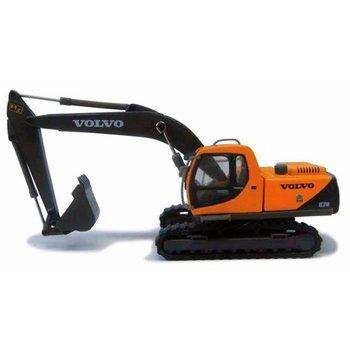 Cararama Volvo EC210 Excavator - Assembled  Yellow, Black # 30000084