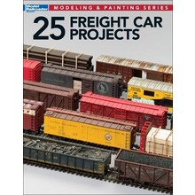Kalmbach 25 Freight Car Projects # 12498