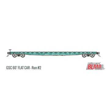 BLMA N 60' Gsc Great Nothern #160003 Flatcar # 17025