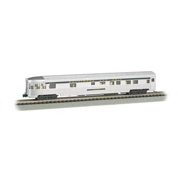 Bachmann N 85' B&O Streamline Fluted Lighted Observation Car # 14553