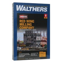 Walthers N Red Wing Milling Co. Kit # 933-3212