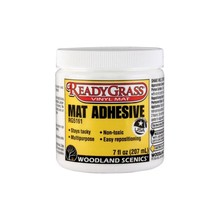 Woodland Scenics ReadyGrass Mat Accessories -- Mat Adhesive - 7oz  207mL # 5161