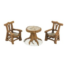 Department 56 Woodland Table & Chairs # 4033838