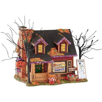 Department 56 Halloween Trick or treat lane Party House # 4051008