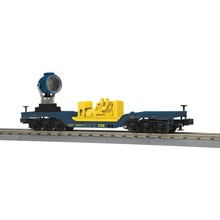 MTH O-27 CSX Die-Cast Operating Searchlight Car # 30-79413