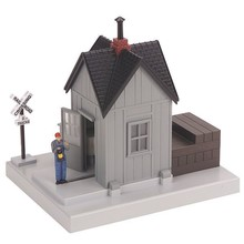 MTH O Operating Watchman's Shanty # 30-9129
