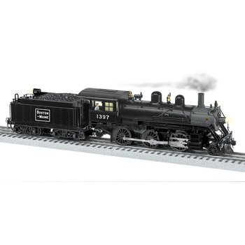 Lionel O Boston & Maine LEGACY 2-6-0 Mogul Steam Locomotive # 6-84069