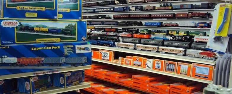 Trains on Tracks O Gauge Store