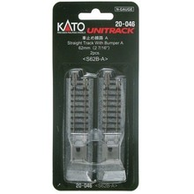Kato N 62mm Straight w/Bumper A/ (2pc) 20-046