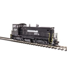 Broadway Limted HO Norflok Western SW 1500 Diesel Switcher # 3343