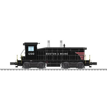 Lionel Boston & Maine LEGACY NW2 Diesel Locomotive # 6-83383