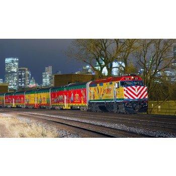 Kato N Operation North Pole Chistmas Train Set # 106-2015