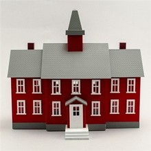 Model Power O Little Red School House # 6376