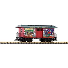 PIKO G Christmass Baggage Car # 38635