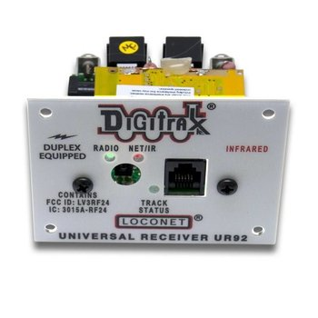 Digitrax LocoNet Duplex Transceiver Panel- Includes Simplex IR Support # UR92