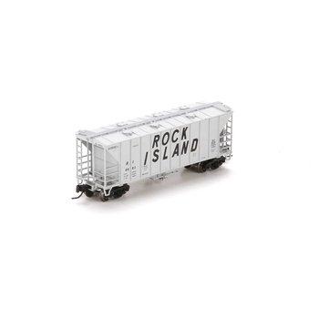 Athearn N Rock Island Airslide Hopper Car # ATH23897