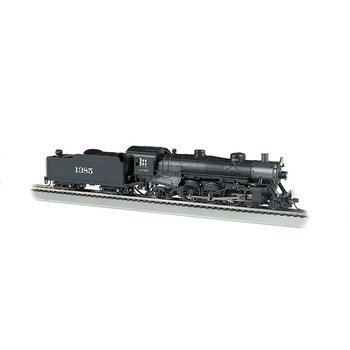 Bachmann HO Santa Fe # 1385 USRA Light Pacific Steam # 52803