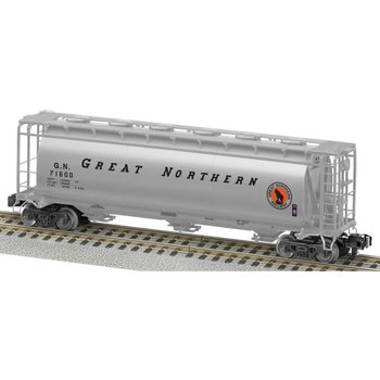 American Flyer Great Northeren Cylindrical 3 Bay Hopper # 6-48866