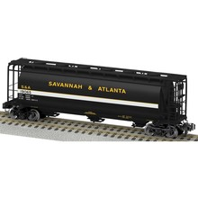 American Flyer Savannah & Atlanta  Cylindrical 3 Bay Hopper # 6-48659