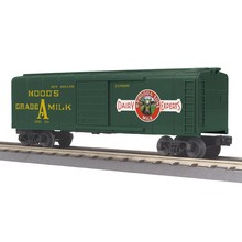 MTH O27 Hood's Dairy Rounded Roof boxcar # 30-74863