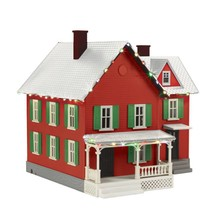 MTH O Christmas Farm House with Lights # 30-90522