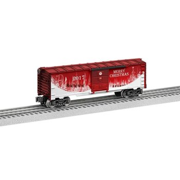 Lionel O-27 Christmas Dated 2017 Boxcar # 6-84375