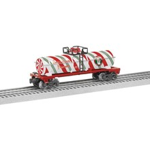 Lionel O-27 Christmas Peppermint Tank Car # 6-84377