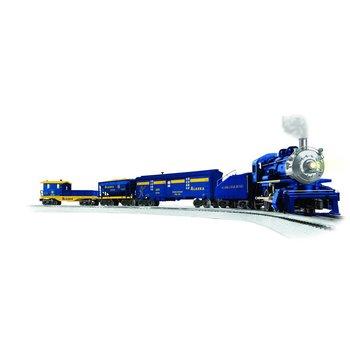Lionel O Bluetooth Alaska Gold Mine 0-4-0 Freight Starter set # 6-83701