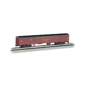 Bachmann N PRR 72' Smoth Side Baggage Car # 14451