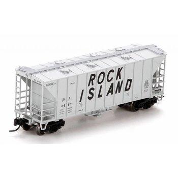 Athearn N Rock Island Airslide Hopper Car # ATH23899