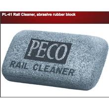 Peco Abrasive Rubber Block Rail/Track Cleaner # PL-41