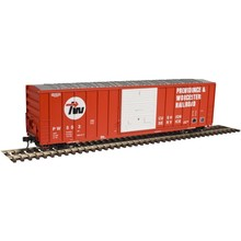 Atlas HO Providence & Worchester SD # 404 Boxcar # 20003916