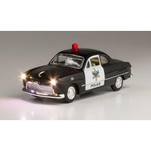 Woodland Scenics HO Police Car # 5593