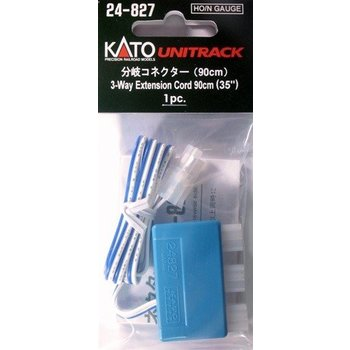 Kato N 3-Way Extension Cord/90cm # 24-827