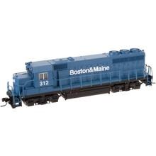 Atlas N Boston & Maine # 312 GP40-2 Diesel Loco # 40000246