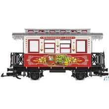 LGB G Wooden 2-Axle Passenger Car w/Music # 36017
